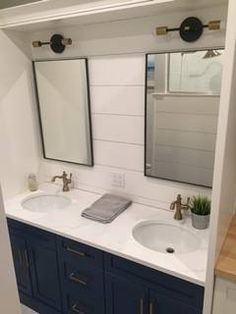Double Sink Vanity, Vanity Design, Showcase Design, Vanities, Your Space, Mirror, Furniture, Home Decor, Dressers