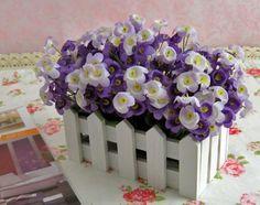16 см пихты сад ваза для цветов горшки и цветочные горшки небольшой забор сад горшки цветочный горшок декоративные вазы для цветов горшок украшения купить на AliExpress