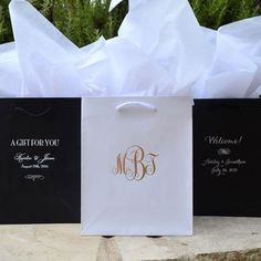 55 Custom Hotel Wedding Welcome Bags, Monogrammed Wedding Bags, Out of Town Guests Hotel Bags, Destination Wedding Welcome Bags Hotel Wedding, Budget Wedding, Our Wedding, Wedding Paper, Wedding Table, Summer Wedding, Wedding Planning, Dream Wedding, Destination Wedding Welcome Bag
