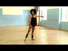 Cuban Contemporary Dance Technique - YouTube