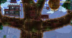 cool terraria houses - Google Search
