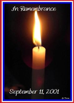Image result for remembrance candle september 11