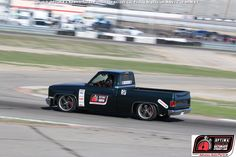 Brandon Douglas received the @KNfilters Spirit of the Event invitation to the 2015 #OUSCI at #DriveOPTIMA Texas in his 1984 Chevrolet C10