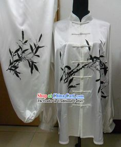 Traditional Chinese Silk Bamboo Kung Fu Clothing    #375 - $199.00