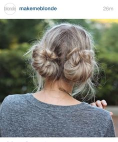 Tried this hairstyle for today. Works really well and is super ute plus easy to do =)