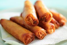 How to Make Lumpia! This is how I remember eating it growing up!