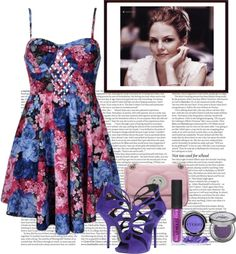 """Dark Spring Hues"" by emobee ❤ liked on Polyvore"