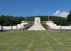 Punchbowl National Cemetary. It's minutes away from my home yet I haven't been there yet. God bless all the military that fight for us every day, especially those who have fallen while fighting. We love you.