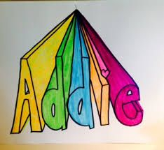 Image result for name art projects