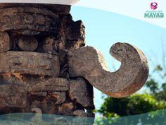 Deidad de la lluvia en la ciudad Maya de Chichén Itzá