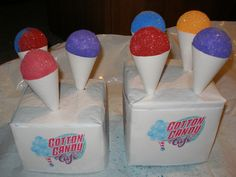 Here is my sno cone for the Cotton Candy Cafe all finished.    Only pic, no link!