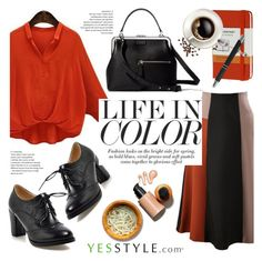 """""""YesStyle - 10% off coupon"""" by helenevlacho ❤ liked on Polyvore featuring Moleskine"""