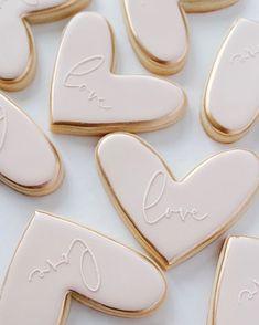 Fancy Cookies, Valentine Cookies, Iced Cookies, Cute Cookies, Sugar Cookies, Valentines, Fondant Cookies, Royal Icing Cookies, Cookie Time