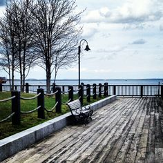 Boardwalk, Harbor Park, Rockland, Maine