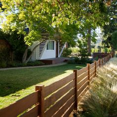 New Fence: Like the horizontal orientation and the lines it creates.