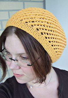 Free pattern - slouch hat