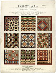 floor tiles 1930s ... Now that's what I'm talkin' 'bout!