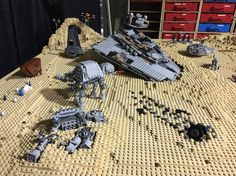 Lego Star Wars set on Jakku