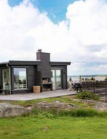 ChicDecó: Una casita en la playa de estilo nórdicoA Nordic style beach cottage
