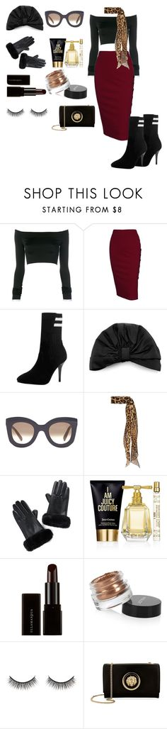 """Senza titolo #835"" by istrice ❤ liked on Polyvore featuring Alexandre Vauthier, Jennifer Behr, CÉLINE, Yves Saint Laurent, Juicy Couture, Illamasqua, Inglot, Battington and Versus"