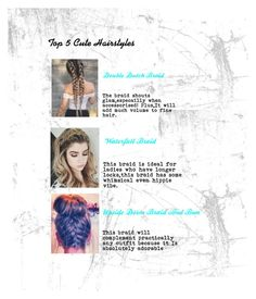 Designer Clothes, Shoes & Bags for Women Hippie Vibes, Cute Hairstyles, Braids, Lady, Hair Styles, Polyvore, Top, Design, Women