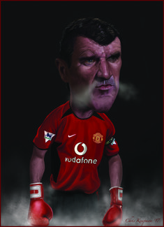 Digital caricatures, live event entertainment, talks, and demos Manchester United Poster, Manchester United Players, Funny Pics, Funny Pictures, Rio Ferdinand, Roy Keane, Caricature From Photo, Best Football Team, Celebrity Caricatures