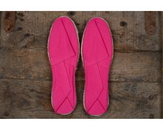 Espadrilles Fuschia - Hossegor - Made in France
