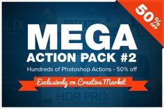 Mega Action Pack #2 by SparkleStock on Creative Market