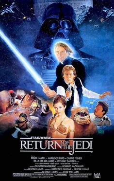 Return of the Jedi (1983) Original One-Sheet Movie Poster