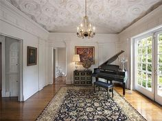 Taylor Swifts Nashville Home: Piano Room