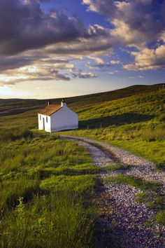 England, Cumbria, Hartside - I want a house just like that in a place just like that