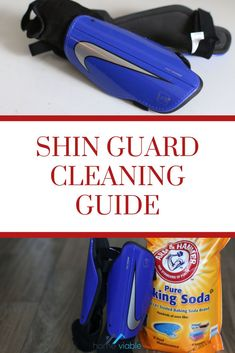 Learn how to wash your soccer shin guards to keep them clean and free of odor. If you need to remove the stinky sweat smell, this is the cleaning guide for you. #homeviable #soccer #clean #shinguards #bakingsoda #vinegar House Cleaning Tips, Deep Cleaning, Cleaning Hacks, Soccer Shin Guards, All Natural Cleaning Products, Best Cleaner, Soda Brands, Natural Detergent, Kids Soccer