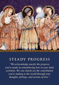 Oracle Card Steady Progress | Doreen Virtue - Official Angel Therapy Website