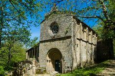 Monasterio de Santa Cristina de Ribas do Sil. RibeiraSacra. (Ourense). Galicia. Spain.