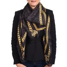 WGS Silky Satin Designer Scarf Headwrap