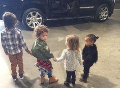 Mason Disick Celebrates His 5th Birthday With North West, Penelope Disick and Kim Kardashian