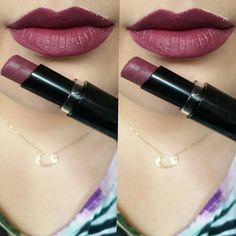 """wet n wild Megalast lipstick in """"Ravin' Raisin"""""""