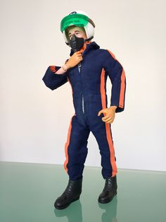 History of Action Man..1970-1977: Action Man Gets Realistic Hair Then Gripping Hands (VAM 'fuzzy' or 'Flocked head'),17