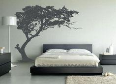 20coole ideen für wandaufkleber design schlafzimmer gebeugt