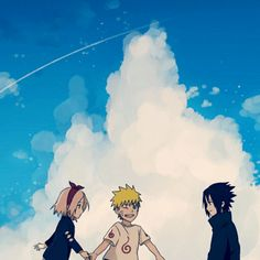 Team7 | Naruto, Sakura and Sasuke
