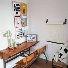 20 Fantastic Kids Playroom Design Ideas – My Life Spot Big Girl Bedrooms, Girls Bedroom, School Desks, Playroom Design, Toddler Rooms, Kidsroom, Boy Room, Interior, Furniture
