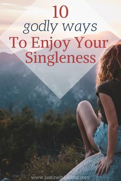 10 godly ways to enjoy being single. Live a full life even as a Christian Single Woman! How To Be Single, Single And Happy, Single Life, Living Single, Staying Single, Christian Dating, Christian Women, Christian Faith, Christian Singles
