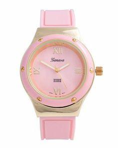 Pink watch!