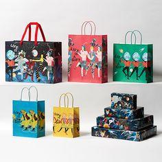 Cake Boxes Packaging, Fruit Packaging, Beauty Packaging, Brand Packaging, Shopping Bag Design, Paper Bag Design, Bag Illustration, Design Typography, Photocollage