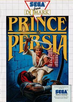 Image result for prince of persia master system box