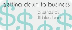 Hands down the smartest, most thorough post on owning a handmade {or any other type of} business! @lil blue boo