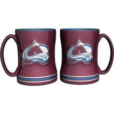 Boelter Colorado Avalanche Relief 14oz Coffee Mug 2-Pack, Team