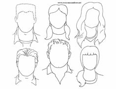Portrait drawings step by step instructions art education графика. Doodle Drawings, Easy Drawings, Horse Drawings, Drawing Lessons, Art Lessons, Drawing Techniques, Portraits For Kids, Art Handouts, Faceless Portrait
