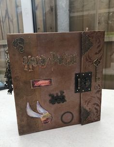 Handmade Harry Potter scrapbook album by LovelyLauraAshley on Etsy https://www.etsy.com/uk/listing/548157796/handmade-harry-potter-scrapbook-album