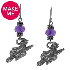 The Way of the Witch Earrings | Fusion Beads Inspiration Gallery